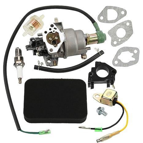 amazon com panari carburetor air filter insulator for honda rh amazon com  honda eb5000x carburetor adjustment