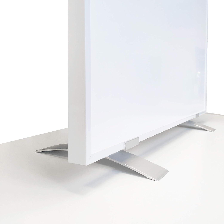 VIESTA Pedestales SF2 para calefacción por Infrarrojos, Pedestal Adecuado para Paneles de calefacción de Las Series F y CF, radiador Plano - para calefacción eléctrica de Uso Independiente