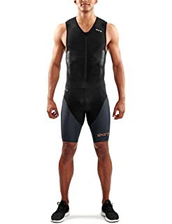 14ac07c30de Skins Dnamic Triathlon Mens Tri Suit with Back Zip  Amazon.co.uk ...