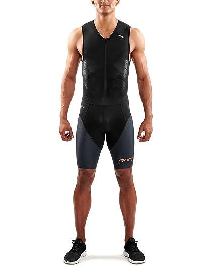 SKINS DNAmic Triathlon Skinsuit - Traje de triatlón con Cremallera Frontal para Hombre