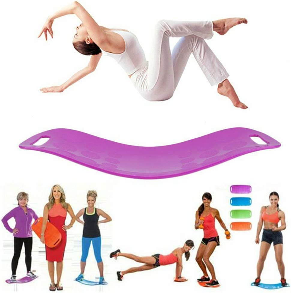 para m/úsculos Abdominales y piernas,Azul Core Workout Balance Fitness Yoga Board YMFZYM Twisting Fitness Balance Board