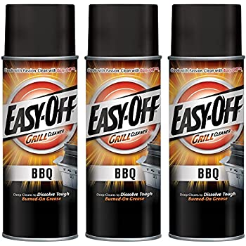 Easy-Off BBQ Grill Cleaner, 14.5 oz Can  (Pack of 3)