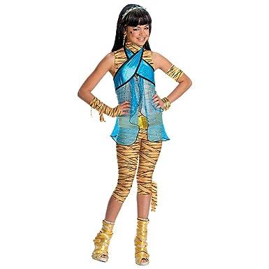 Amazon.com: Disfraz de Cleo de Nile – Pequeñas: Clothing