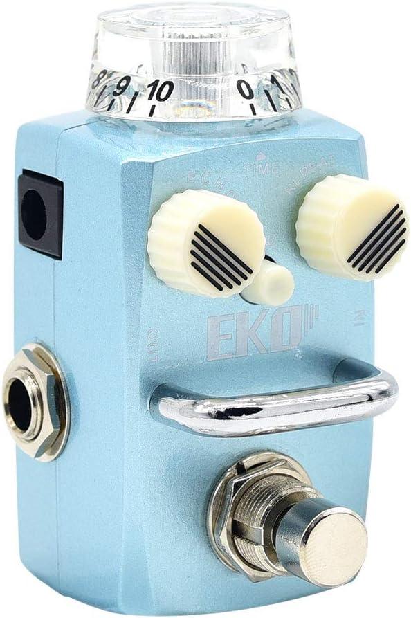 Hotone Skyline Eko Voz analógica Retardo digital con modulación Pedal de efectos de guitarra