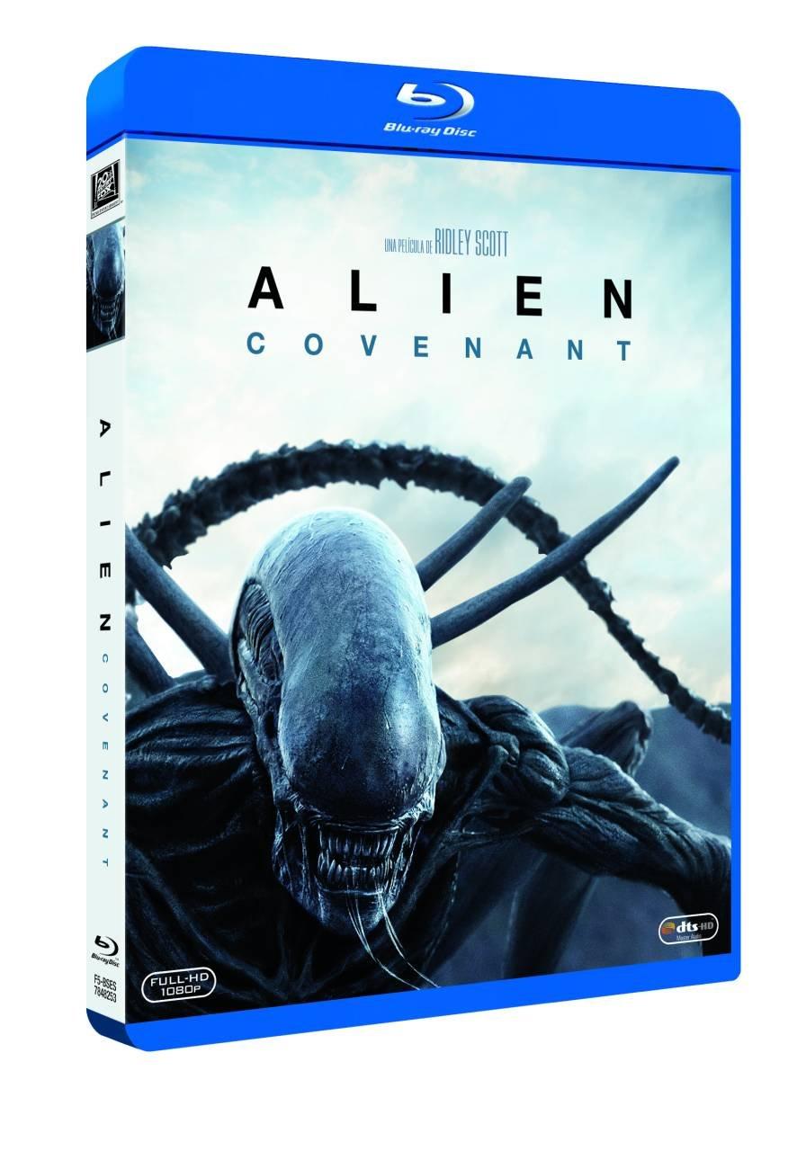 Alien Covenant Blu-Ray [Blu-ray]