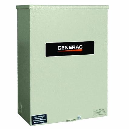 amazon com: generac rtsc200a3 200-amp 120-240v single phase nexus smart  transfer switch: garden & outdoor