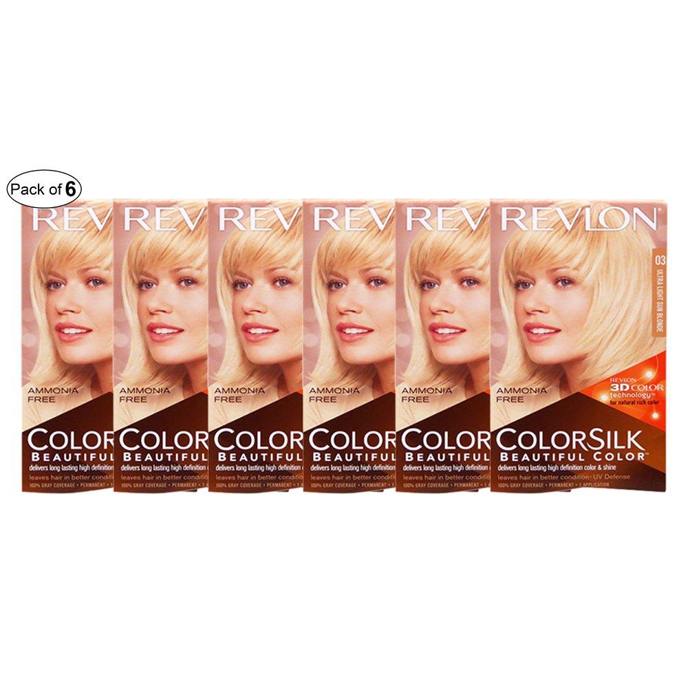 Revlon Hair Color Ultra Light Sun Blonde(03)(Pack of 6)