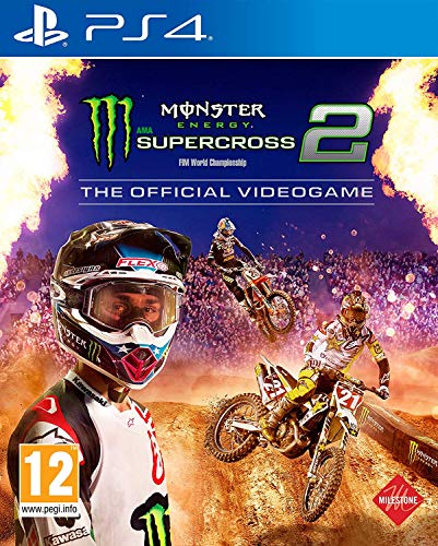 Monster Energy Supercross – The Official Video Game 2 PS4