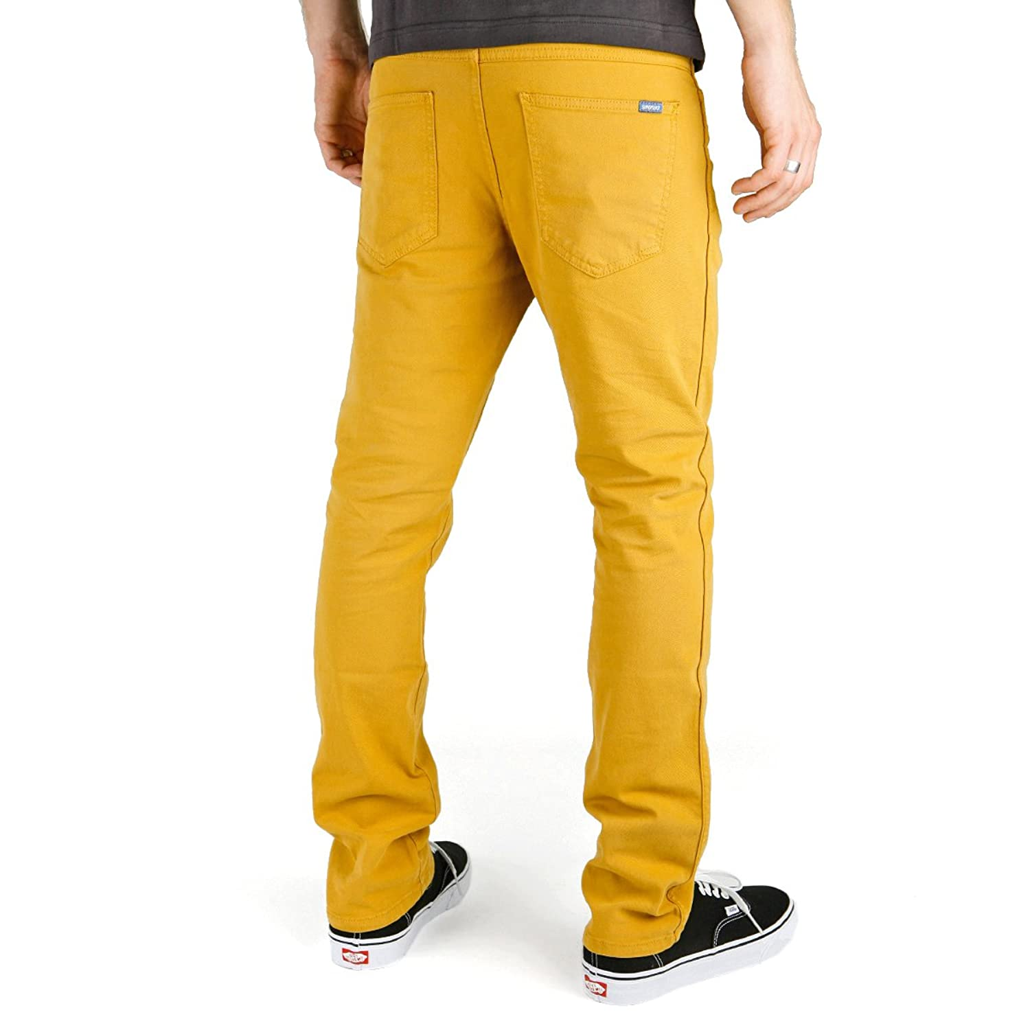 Superslick Tight Color Pant Slim Jeans Mustard Yel: Amazon.de: Bekleidung
