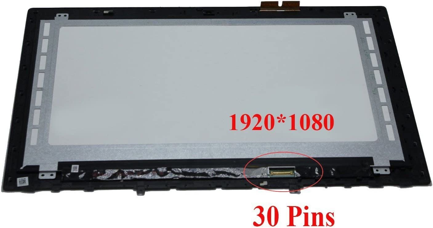"""Lifedream 15.6"""" 1920x1080 Touch Screen Glass LCD Display Panel Assembly + Bezel for Lenovo Y50-70 15.6"""" Touchscreen Assembly FHD LCD Display + Bezel (Only for 1920x1080, not for 3840x2160)"""