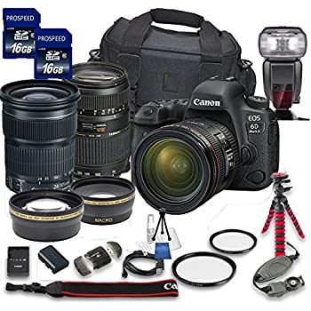 Amazon.com : Canon EOS 6D Mark II with EF 24-105mm is STM