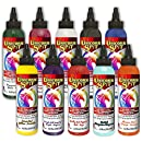 Unicorn SPiT Gel Stain & Glaze in One - 10 Paint Collection- 4oz