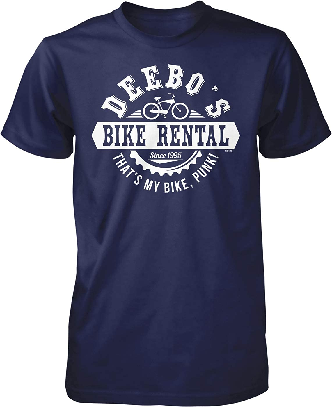 NOFO Clothing Co Deebo's Bike Rental, That's My Bike Punk Men's T-Shirt 61VNRqLcaTL
