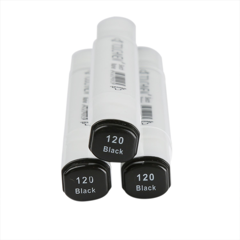 MEEDEN 3pcs 0# Colorless Blender Marker Alcohol Based Ink Double Head Sketch Marker Set For Artist Manga Painting Blender Supplies
