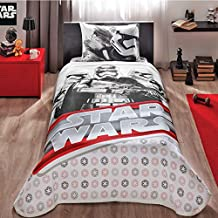 Star Wars Single/Twin 100% Cotton Bedding Quilted Bedspread/Coverlet Set 3 Pcs