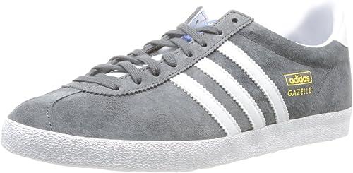 adidas gazelle baskets basses mixte adulte gris