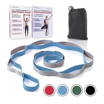 Sport2People Correa de Yoga para Estiramiento y recuperación ...