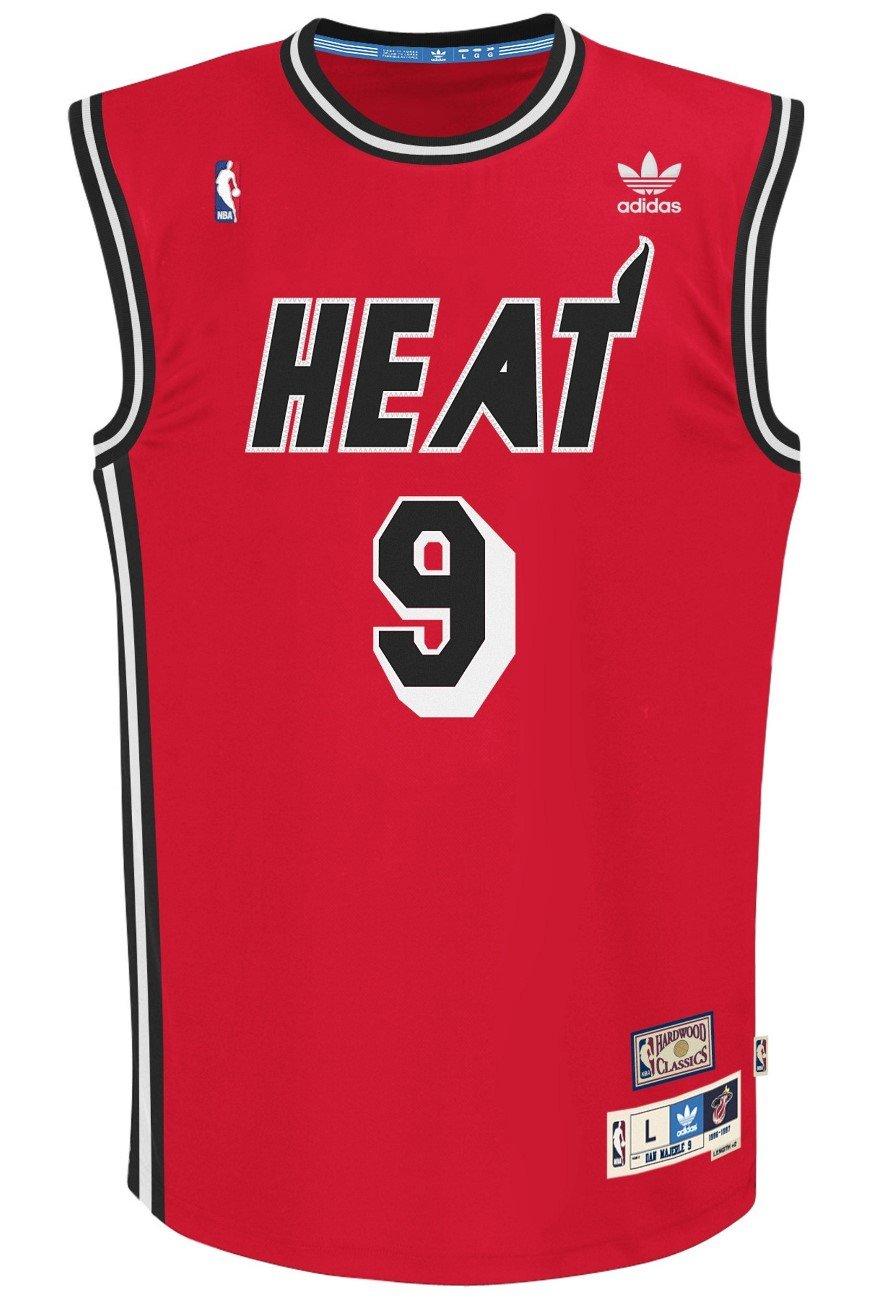 f4dd597096b Amazon.com   Miami Heat  9 Dan Majerle Red Adidas Soul Swingman Jersey    Sports   Outdoors