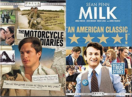 - Critically Acclaimed Historically Based Inspirational Films: Milk & The Motorcycle Diaries (Gus Van Sant)
