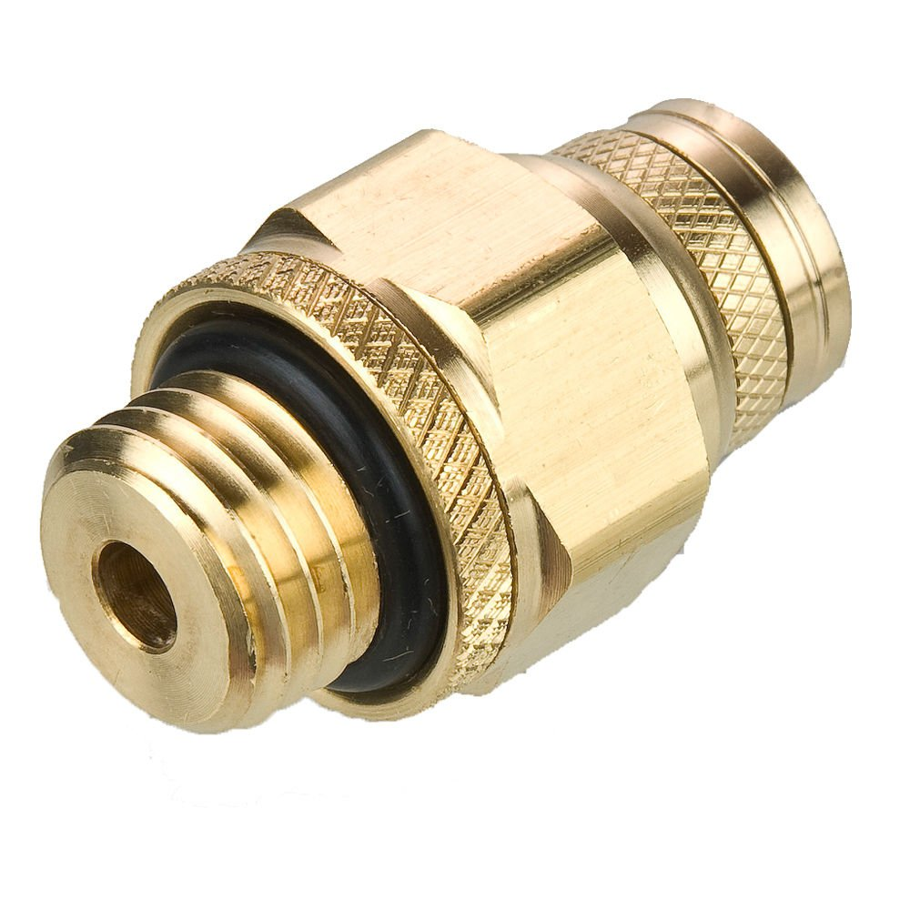 Fitting Push-to-Connect and Metric Straight Thread Connector Tube to Pipe Pack of 20 Parker F8UPMTB6-M22-pk20 Push-to-Connect D.O.T Brass 6 mm and M22x1.5 mm