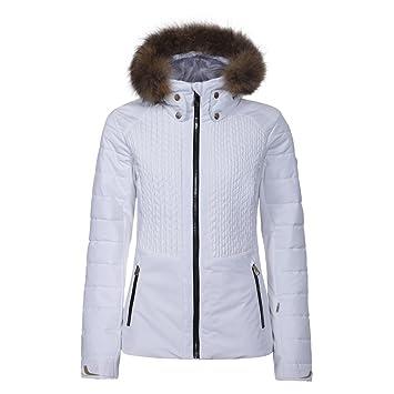 Luhta Beta L7 - Chaqueta de esquí para Mujer, Mujer, Color Blanco, tamaño Medium: Amazon.es: Deportes y aire libre