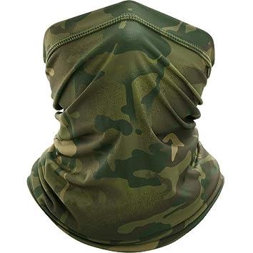 Face Neck Gaiter Summer Biker Scarf Tube Bandana Beanie Cover Cap Headwrap