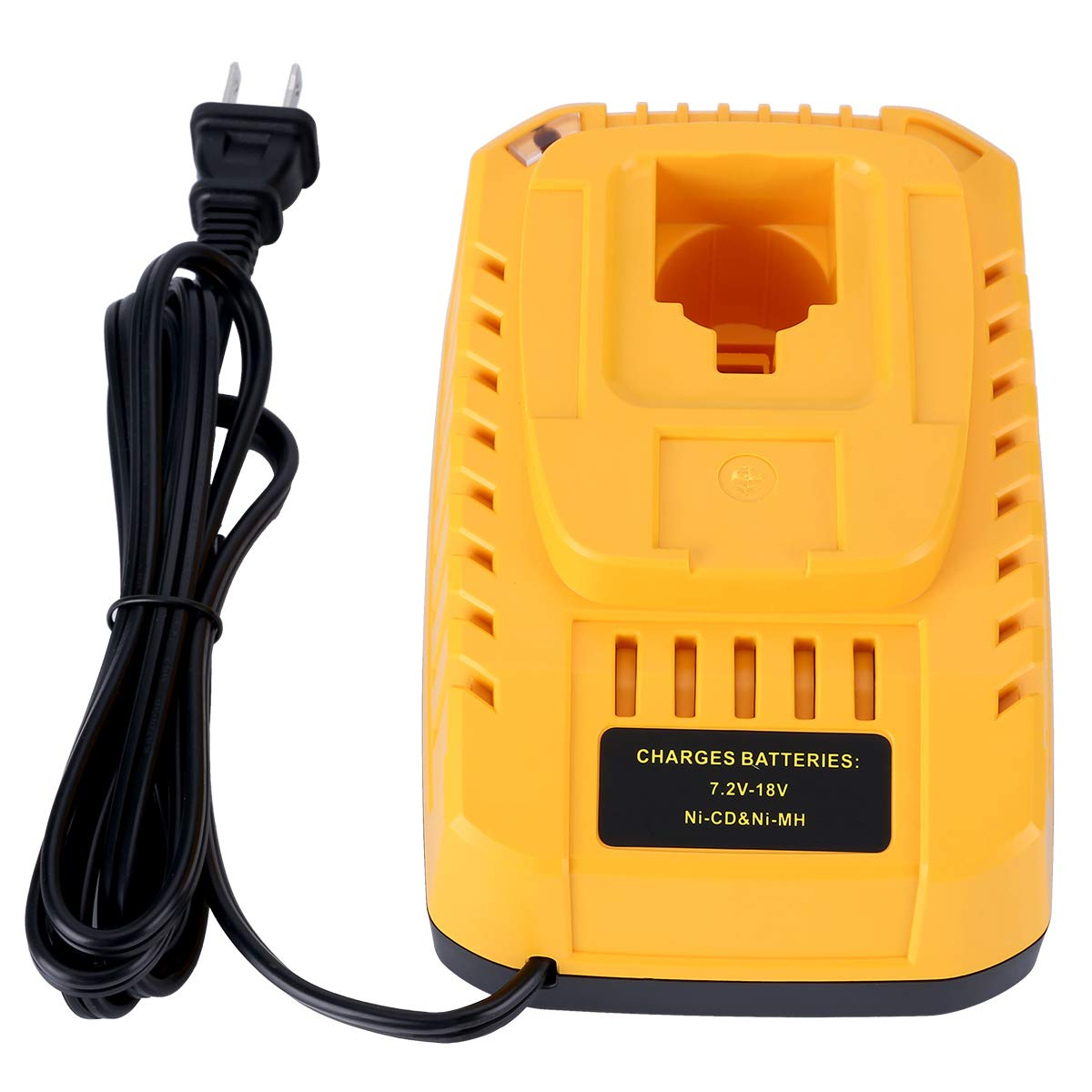 Qbmel 7.2V-18V Battery Charger for DEWALT NiCd & NiMh Battery DW9057 DC9071 DC9091 DC9096 DW9072 DW9091 DW9071