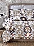 moraga quilt - Cozy Line Home Fashions 3 Piece Moraga Cotton Quilt Set, King