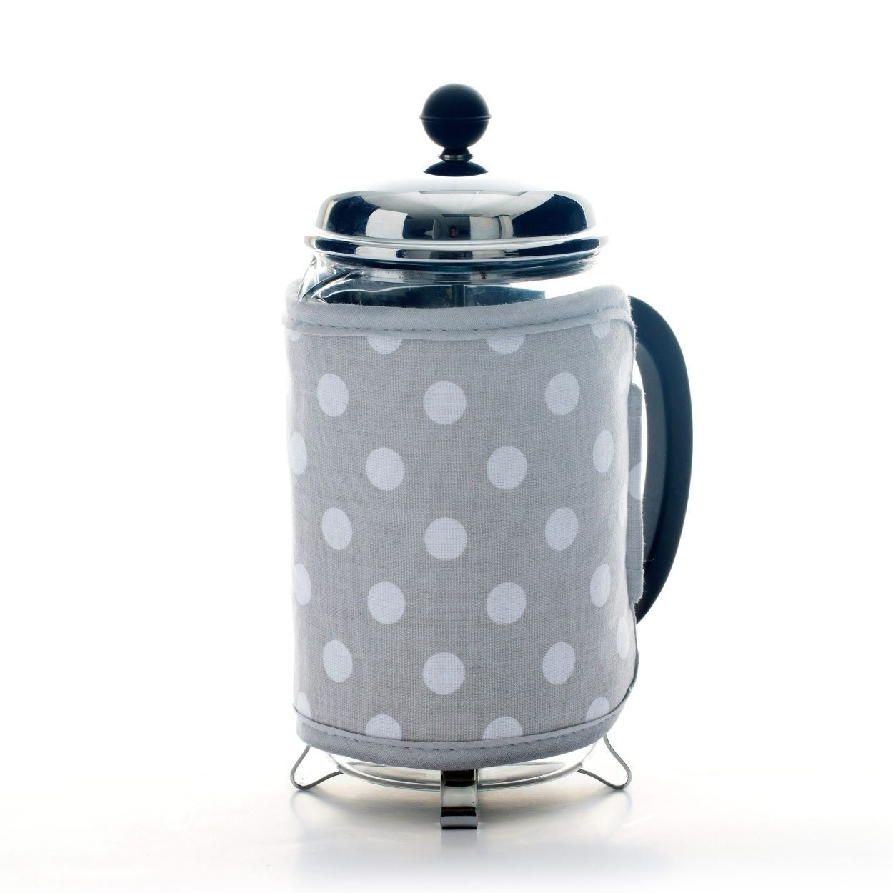 Dexam Flamenco Cafetiere Cosy, Dove Grey - 16150210