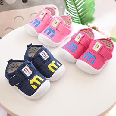 Igemy Kleinkind Kleinkinder Kinder Baby Quietschende Schuhe