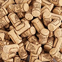 Tebery 150 Pack Natural Wine Corks Craft Corks Excellent for Crafting & Decor