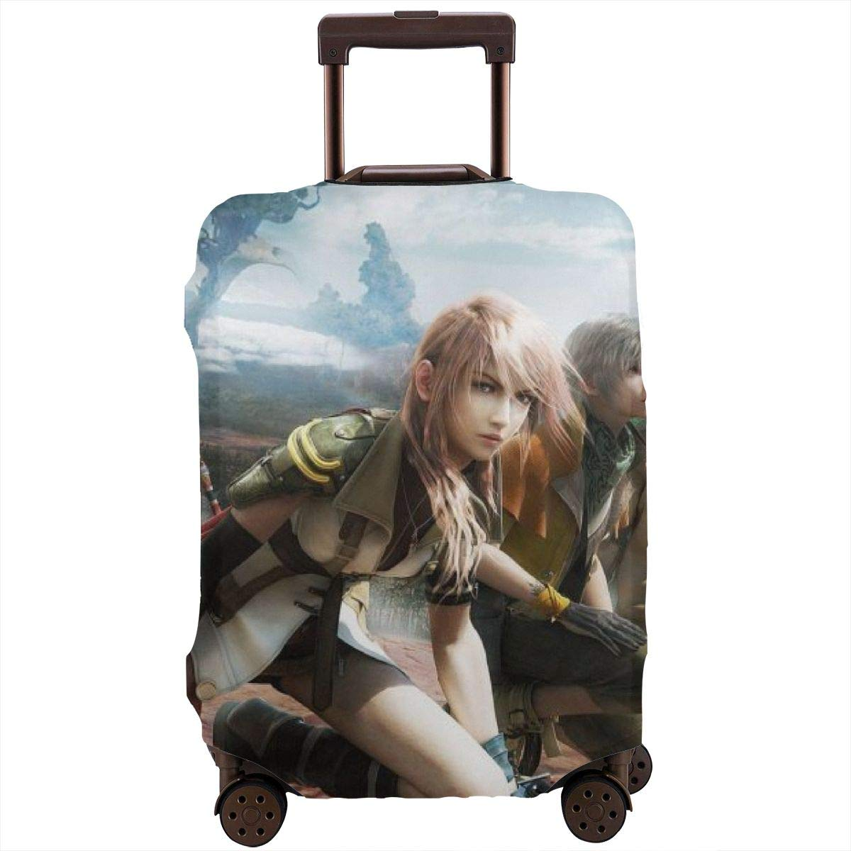 Naruto Anime Suitcase Protector Travel Luggage Cover Fit