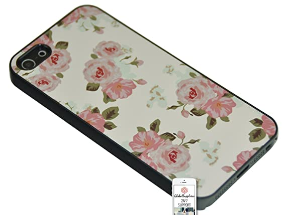 Amazon.com: Case Cover for Blackberry Q10 Flower Floral Rose ...