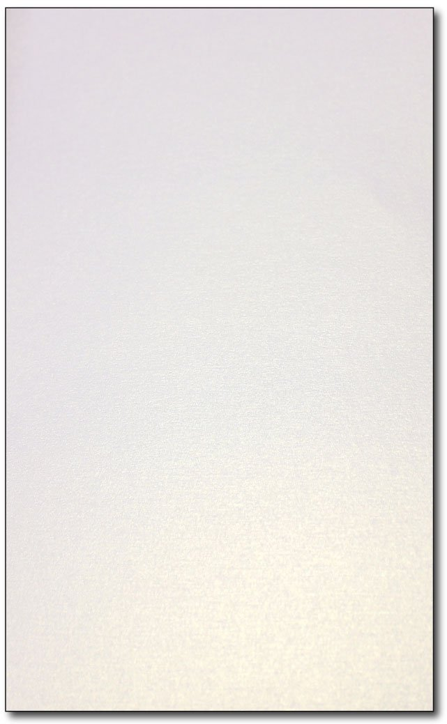 Pearl Metallic Shimmer Legal Size (8 1/2'' x 14'') Paper - 200 Sheets