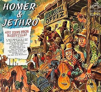 Homer And Jethro - Any News From Nashville? - Amazon com Music