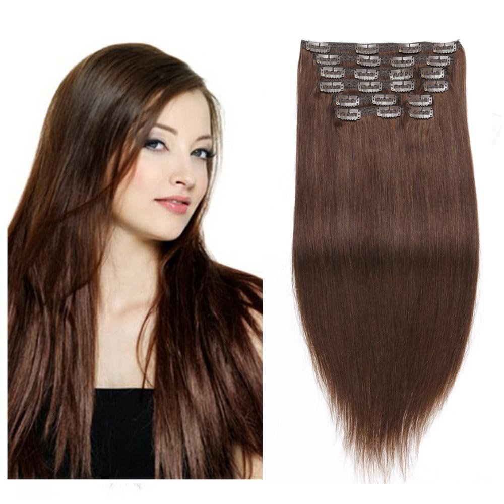 Best Hair Extensions Full Head Clip In Hair Extensions Remy Re4u