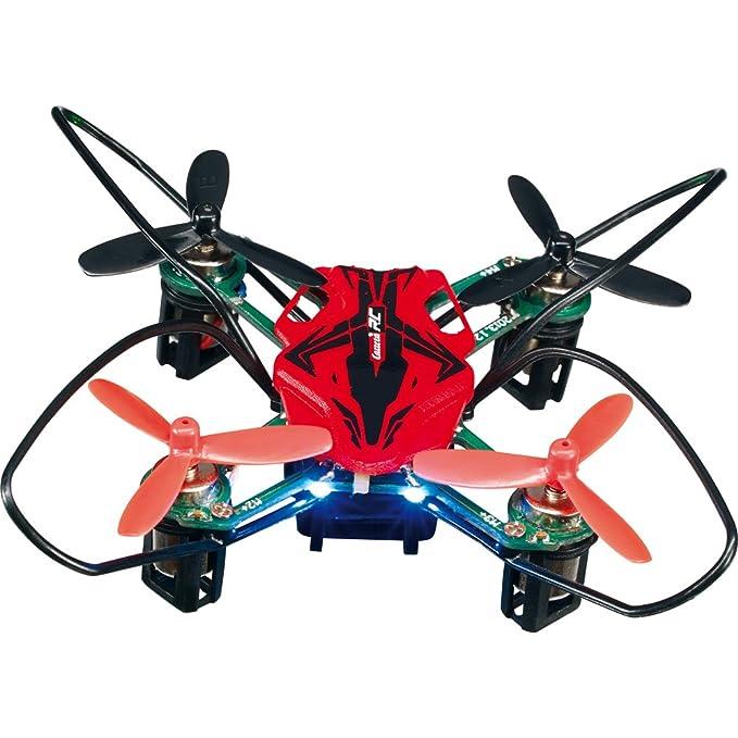 Carrera RC - Micro cuadricóptero, 4 Canales, 2.8 cm diámetro de 7 ...