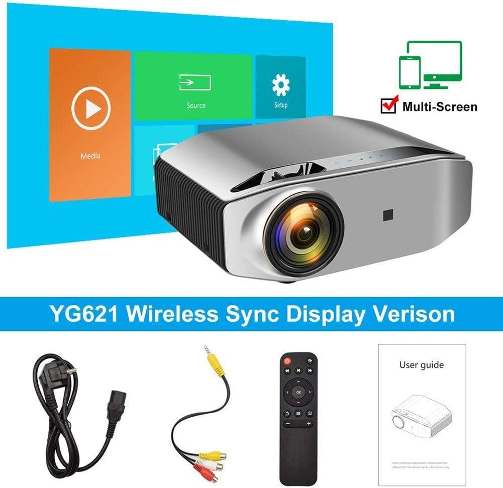Proyector Full HD nativa de 1920 x 1080p 3D proyector YG621 Multi ...