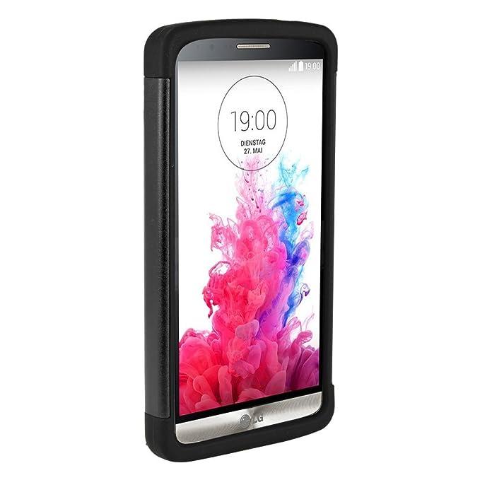 OSurce - Carcasa super resistente para LG G3, color negro ...