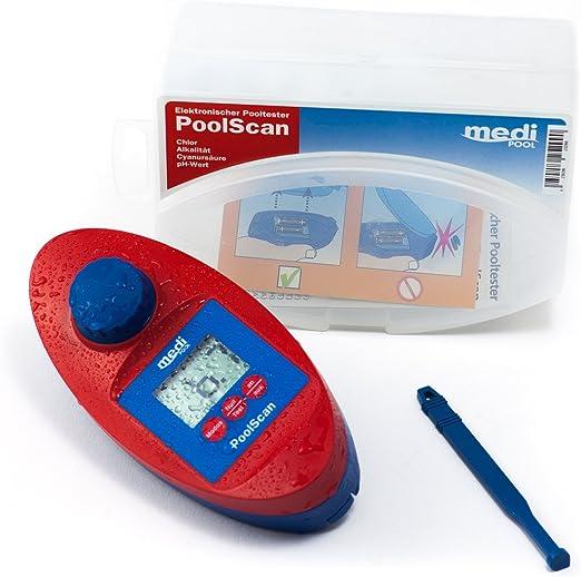 Pool Can – electrónico Pool tester para medición de cloro y pH ...