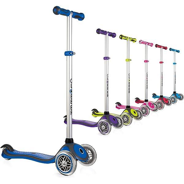 Amazon.com: Globber 3 Rueda 5-in-1 Convertible Scooter ...
