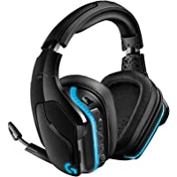 Logitech G935 Gaming Headset 2.4 GHz Wireless 7.1 Surround Sound Pro for PC, Xbox One and PS4 - Black