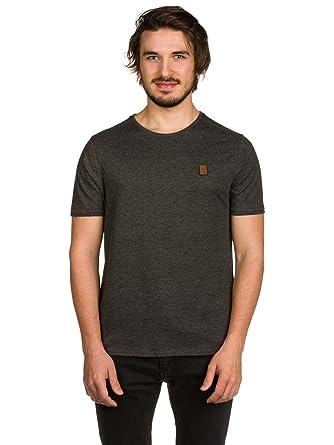 99a055f8a5c6 Naketano Herren T-Shirt Italienischer Hengst V T-Shirt,anthracite melange,  S  Amazon.de  Bekleidung