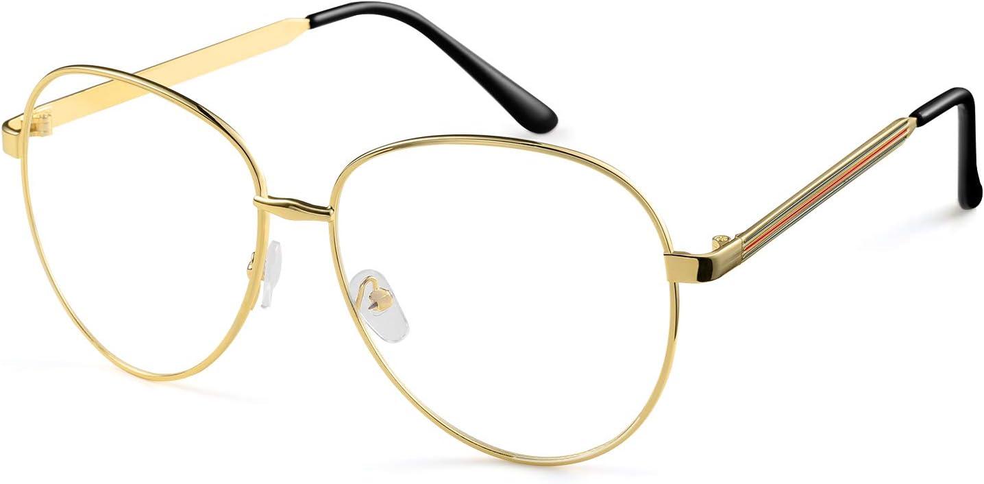 SaNgaiMEi Blue Light Blocking Glasses for Women Men Computer Game Glasses Anti Eyestrain Blue Light Filter Reading Glasses Black Blue Light Glasses