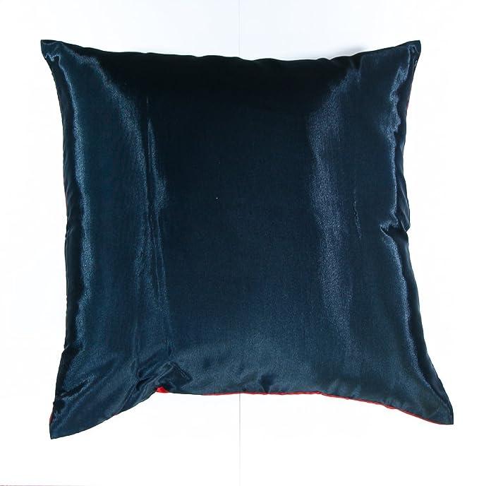 Amazon.com: Funda de cojín de seda tailandesa decorativa ...