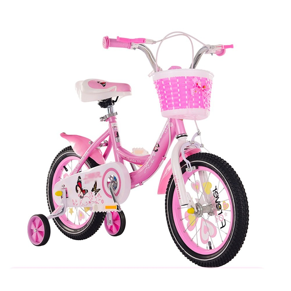 ピンクの子供の自転車12 14 16 18インチの女の子のサイクリング2-3-6歳の子供のキャリッジバイク B07DWL9YNQ 16 inch|Style 1 Style 1 16 inch