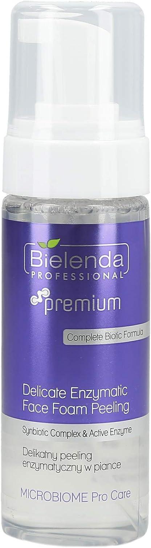 Bielenda profesional microbioma Pro Care Delicado Enzymatic cara de espuma pelar 160 ml