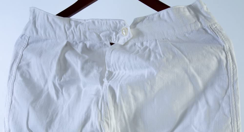 80s USSR Military Winter Uniform Underwear PANTS Flannel Sz S 46-2