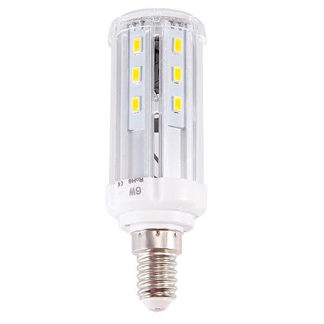 E14 6 W 8 W 10 W SMD 5730 LED maíz luz bombilla foco lámpara día