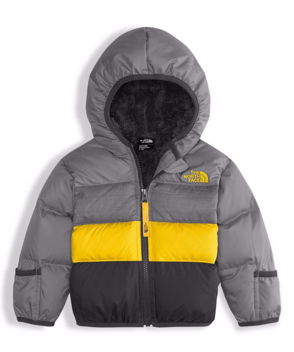 The North Face Infant Moondoggy 2.0 Down Jacket (18M, Mid Grey)